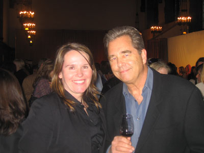 Christine with Beau Bridges at Sante